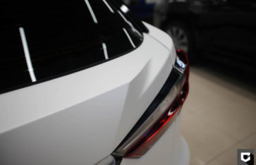 Lexus RX 450h оклейка кузова прозрачной матовой пленкой