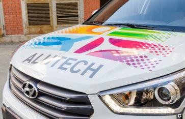 Hyundai Creta брендирование