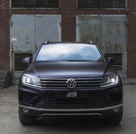 Volkswagen Touareg оклейка в прозрачный матовый