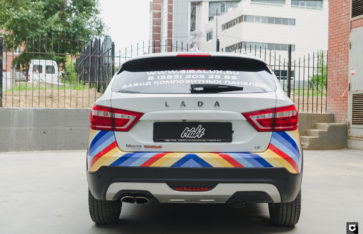 Lada Vesta Cross брендирование