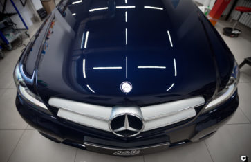 Mercedes С «Полировка+нанесение керамики»