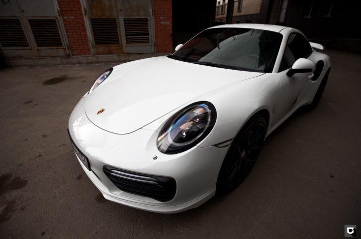 Porsche 911 — оклейка полиуретаном