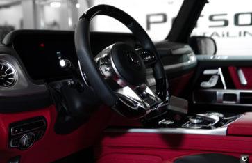 Mercedes G63 «Защита фронтальной части полиуретановой пленкой»