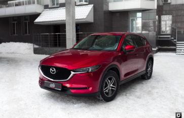 Mazda CX-5  «Защита фронтальной части»