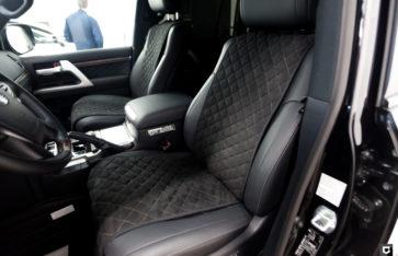 Toyota Land Cruiser 200  «Полировка + нанесение керамического покрытия»