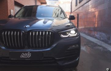 BMW X5 [G05] «Защита фронтальной части + оклейка решетки радиатора»