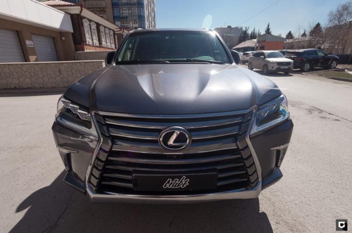 Lexus LX450 «Детейлинг полировка + нанесение керамического покрытия»