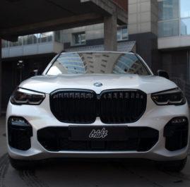 BMW X5 «Полная оклейка защитной полиуретановой пленкой»