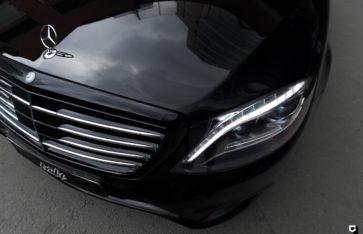 Mercedes S222 «Детейлинг полировка + нанесение керамического покрытия»