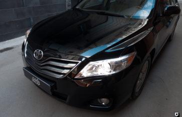 Toyota Camry «Полировка + нанесение керамического состава»