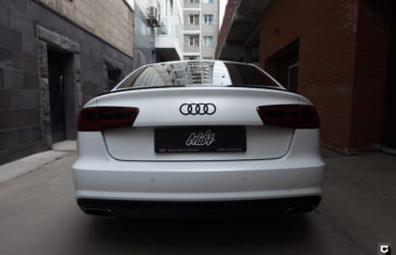 Audi A6 «Полная оклейка в матовую полиуретановую пленку»