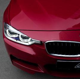BMW 320i «Защита фронтальной части полиуретановой пленкой»