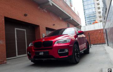 BMW X6 True blood