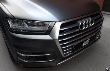 Audi Q7 «Оклейка в прозрачную матовую пленку»
