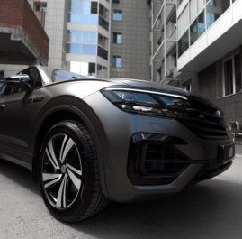 Volkswagen Touareg «Оклейка в прозрачный мат»