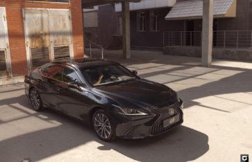 Lexus ES «Полировка + нанесение керамики»