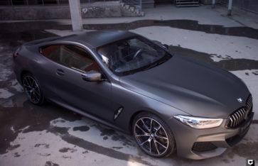 BMW 8-series «Оклейка в матовый полиуретан»