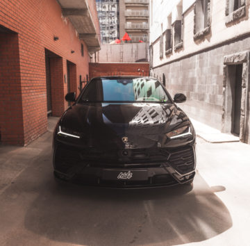 Lamborghini Urus «Полная оклейка в полиуретан»
