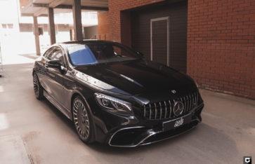 Mercedes-Benz S-class Coupe «Комплекс по полировке + нанесение керамики»