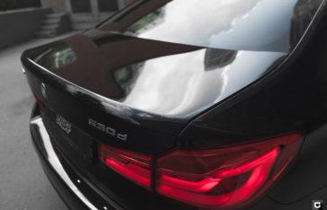 BMW 530 «Комплекс по полировке + нанесение керамики»