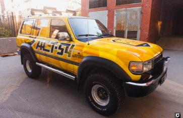Toyota Land Cruiser 100 «Брендирование АСТ-54»