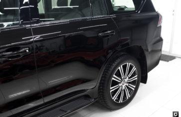 Lexus LX570 «Комплекс по полировке + нанесение керамики»