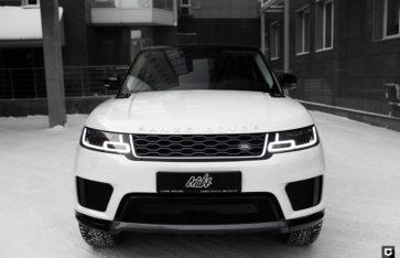 Land Rover Range Rover Sport «Частичная оклейка в полиуретан»