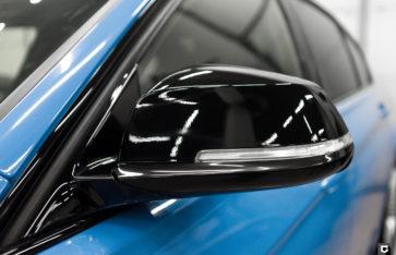 BMW 3-series «Полная оклейка в Smoky Blue»