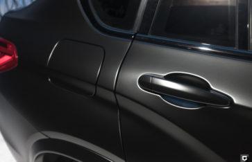 BMW X4 «Полная оклейка в Satin Black»