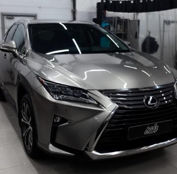 Lexus RX «Защита фронтальной части полиуретаном»
