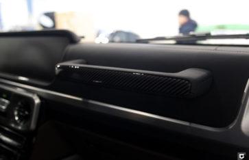 Mercedes-Benz G63 «Полная оклейка в прозрачный полиуретан»