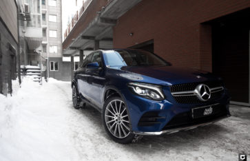 Mercedes-Benz GLC «Комплекс по полировке, нанесение керамики и химчистка салона»