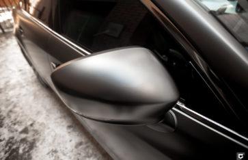 Mazda 3 «Полная оклейка в прозрачный матовый полиуретан»