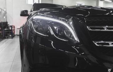Mercedes-Benz GLS «Оклейка фронтальной части»
