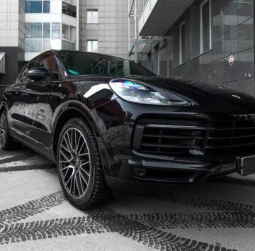 Porsche Cayenne «Комплекс по полировке + нанесение керамики»