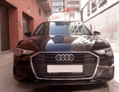 Audi A6 «Оклейка фронтальной части»