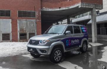 UAZ Patriot «Брендирование Farfello»
