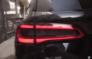 BMW X5 «Полная оклейка в полиуретан»