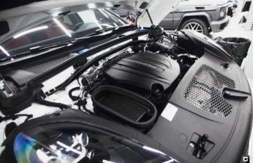 Porsche Cayenne «Химчистка + нанесение защитных составов»
