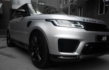 Land Rover Range Rover Sport «Оклейка в матовый полиуретан»