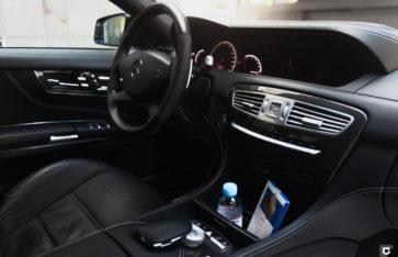 Mercedes-Benz CL63 «Полная оклейка в Satin White Pearl»
