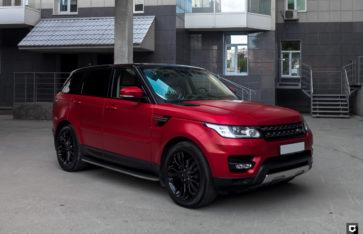 Land Rover Range Rover Sport «Полная оклейка в матовый полиуретан»