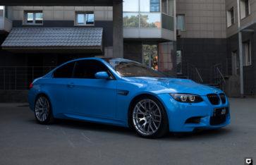 BMW M3 «Полная оклейка в Smoky Blue»