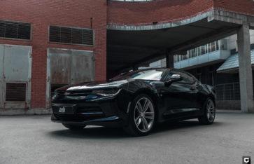 Chevrolet Camaro «Комплекс по полировке + нанесение керамики»