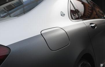 Mercedes Maybach «Двуцветная оклейка»