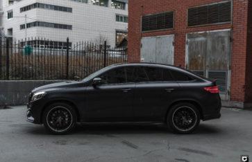 Mercedes-Benz GLE «Полная оклейка в прозрачный мат»
