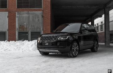 Land Rover Range Rover Autobography «Комплекс по полировке и нанесению керамики»