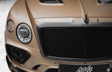 Bentley Bentayga «Полная оклейка в прозрачный мат»