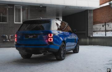Land Rover Range Rover Autobiography «Комплекс по полировке и нанесению керамики»