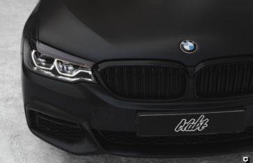 BMW 3-Series #ALLBLACK «Полная оклейка в прозрачный мат»